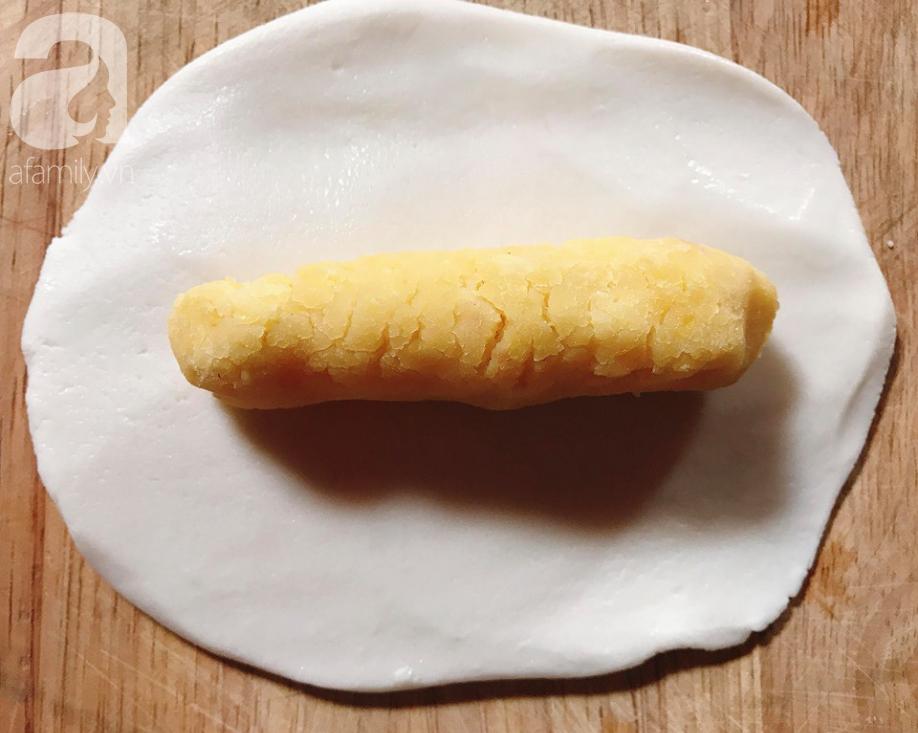 Bánh dày đỗ - món bánh dẻo thơm dân dã dù bao sơn hào hải vị cũng chẳng sánh bằng - Ảnh 4.
