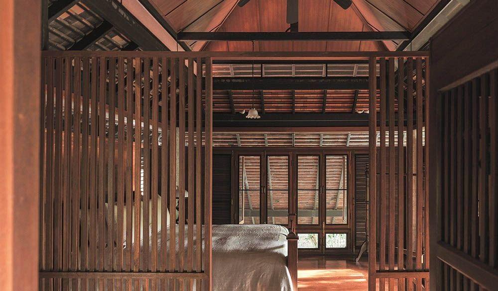 Ngôi nhà gỗ bất chấp nắng nóng, chỉ có gió mát và ánh sáng ngập tràn giữa rừng cây xanh - Ảnh 10.