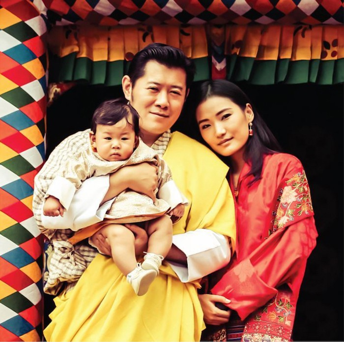 Đất nước hạnh phúc Bhutan công bố hình ảnh mới nhất của hoàng tử bé  - Ảnh 1.