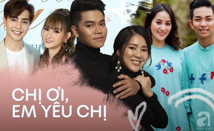 """Những chuyện tình """"chị - em"""" đáng ngưỡng mộ nhất showbiz Việt: Khi tình trẻ sẵn sàng làm chỗ dựa cho người phụ nữ trải qua nhiều giông bão - Ảnh 1."""