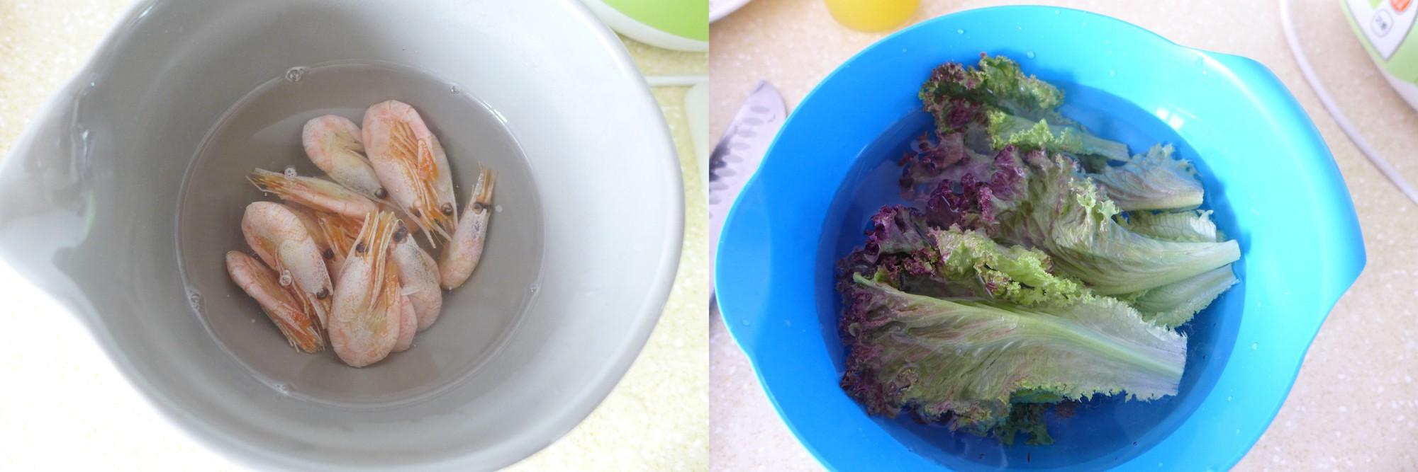Salad tôm xoài - Ảnh 1.