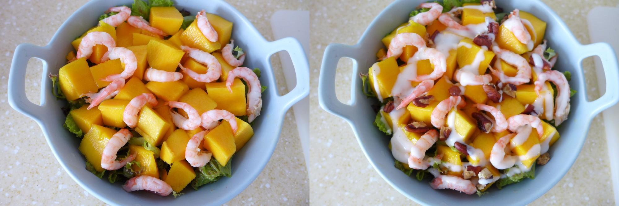 Salad tôm xoài - Ảnh 3.