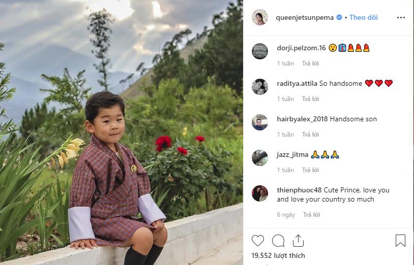 Đất nước hạnh phúc Bhutan công bố hình ảnh mới nhất của hoàng tử bé  - Ảnh 4.