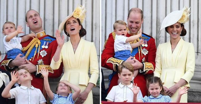 Hoàng tử Louis tiếp tục khẳng định độ HOT của mình: Thêm khoảng khắc đáng yêu đến