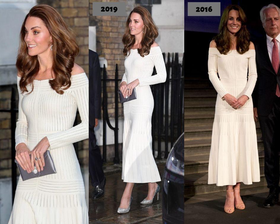 Diện lại đầm gợi cảm từ 3 năm trước, Công nương Kate cho thấy cả một sự nâng tầm về nhan sắc và phong cách - Ảnh 6.