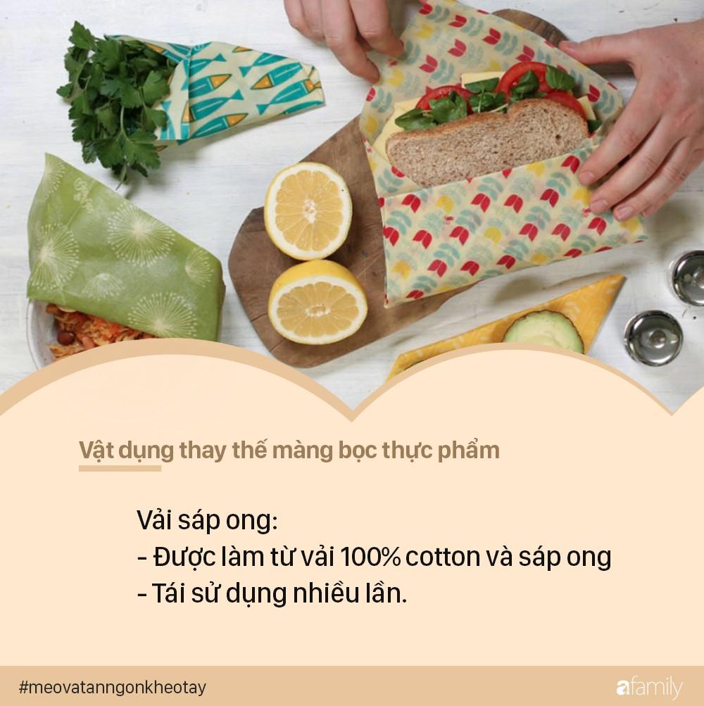 Cần gì phải dùng màng bọc thực phẩm, có những cách hiệu quả không kém lại tốt hơn cho môi trường này - Ảnh 5.