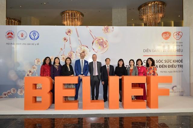 GSK cùng các Hiệp hội y khoa tổ chức Diễn đàn y tế đa chiều - Ảnh 3.