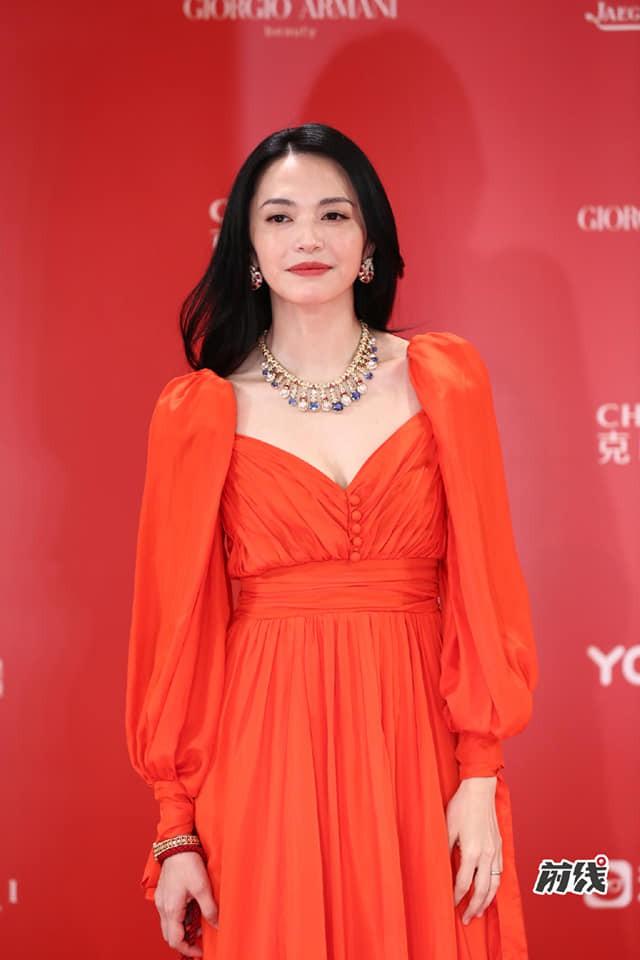 Thảm đỏ LHP quốc tế Thượng Hải: Chương Tử Di xinh đẹp tựa nữ hoàng, đọ sắc cùng hai mỹ nhân cảnh nóng Thư Kỳ và Thang Duy - ảnh 10