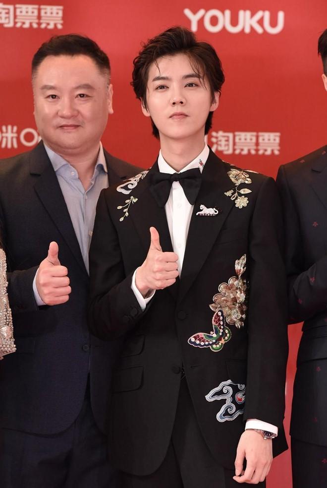 Thảm đỏ LHP quốc tế Thượng Hải: Chương Tử Di xinh đẹp tựa nữ hoàng, đọ sắc cùng hai mỹ nhân cảnh nóng Thư Kỳ và Thang Duy - ảnh 11