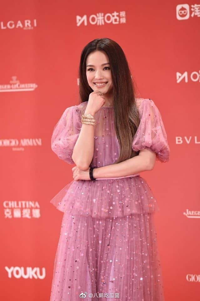 Thảm đỏ LHP quốc tế Thượng Hải: Chương Tử Di xinh đẹp tựa nữ hoàng, đọ sắc cùng hai mỹ nhân cảnh nóng Thư Kỳ và Thang Duy - ảnh 6