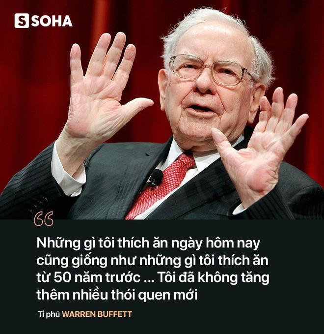 Bí quyết trẻ khỏe ngược đời của tỉ phú U90 Warren Buffett: Tôi ăn như đứa trẻ 6 tuổi - Ảnh 4.