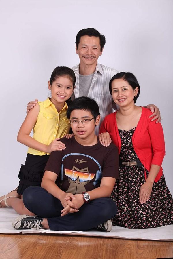 Gia đình hạnh phúc được NSƯT Trung Anh chia sẻ.