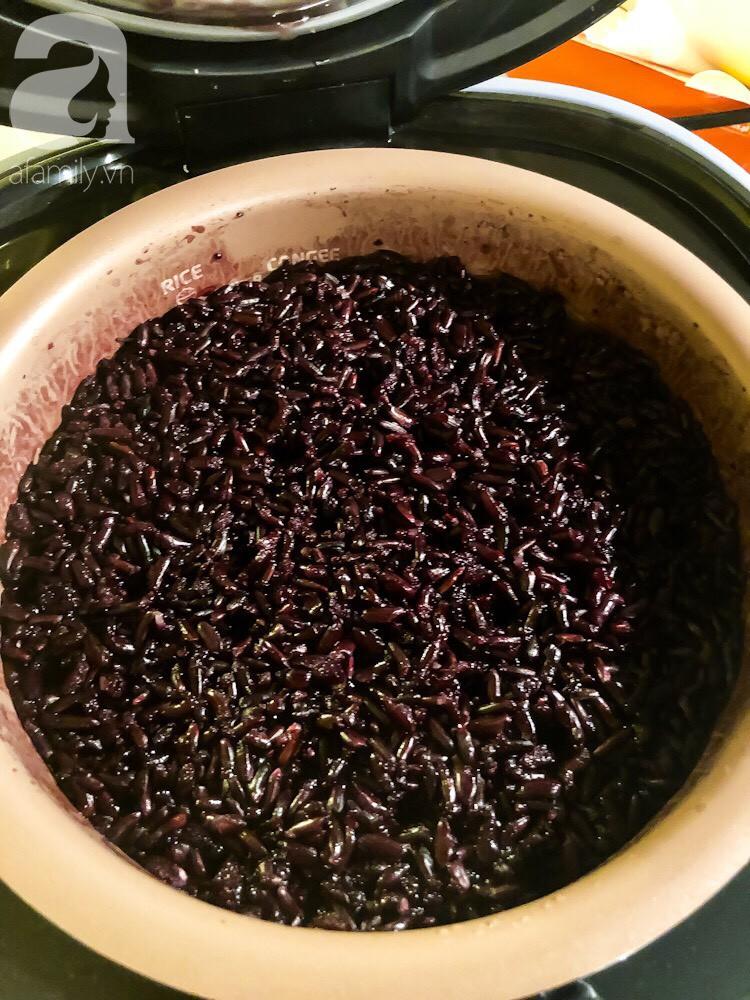 Đón Tết Đoan Ngọ cùng cơm rượu nếp cẩm cực đơn giản - Ảnh 5.