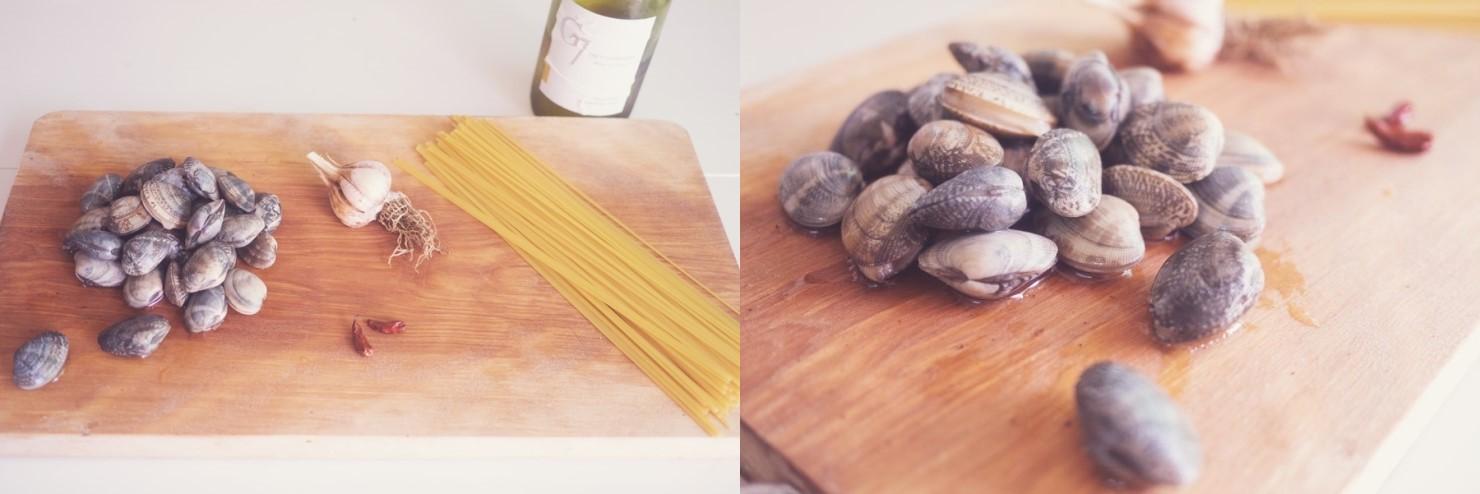 Mỳ Ý xào ngao - Ảnh 1.