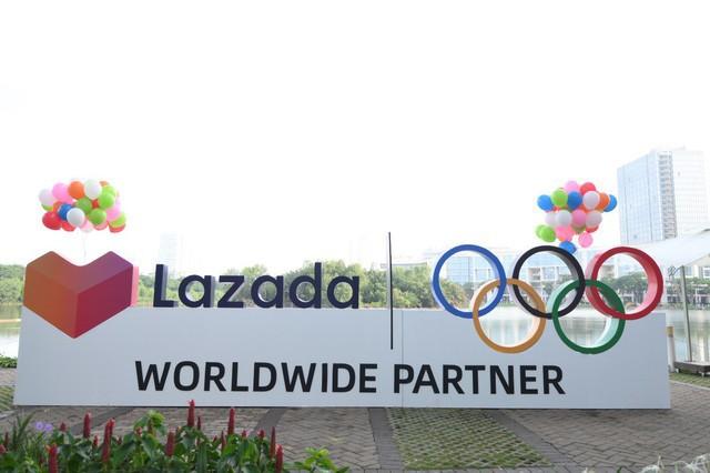 Lazada tổ chức Olympic Day Run, công bố là đối tác của Olympic trong 9 năm tới - Ảnh 2.