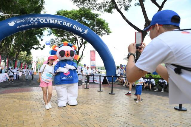 Lazada tổ chức Olympic Day Run, công bố là đối tác của Olympic trong 9 năm tới - Ảnh 4.