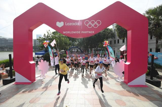 Lazada tổ chức Olympic Day Run, công bố là đối tác của Olympic trong 9 năm tới - Ảnh 7.
