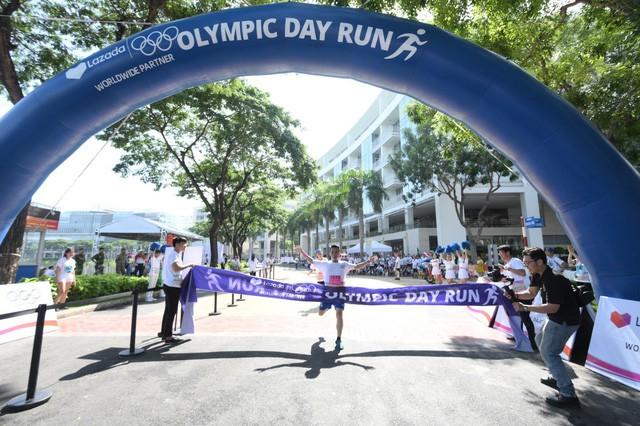 Lazada tổ chức Olympic Day Run, công bố là đối tác của Olympic trong 9 năm tới - Ảnh 8.