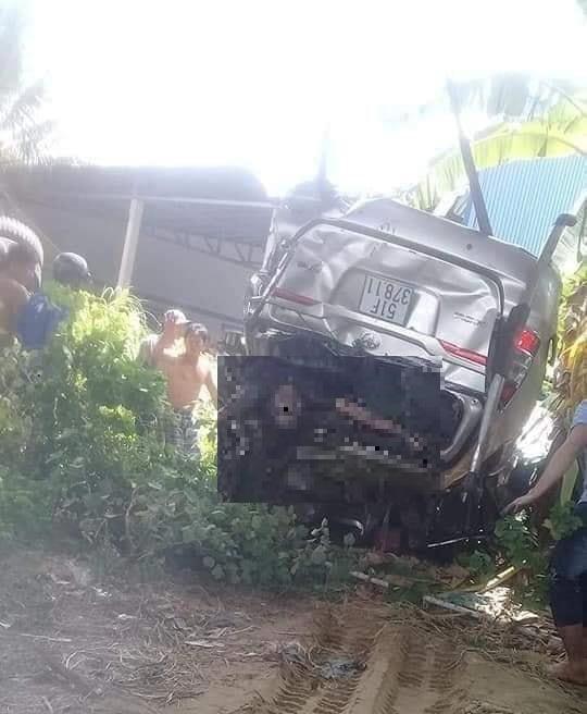 Tai nạn thảm khốc ở Bến Tre: Xe tải mất phanh tông vào ô tô 7 chỗ, nhiều người thương vong - Ảnh 4.