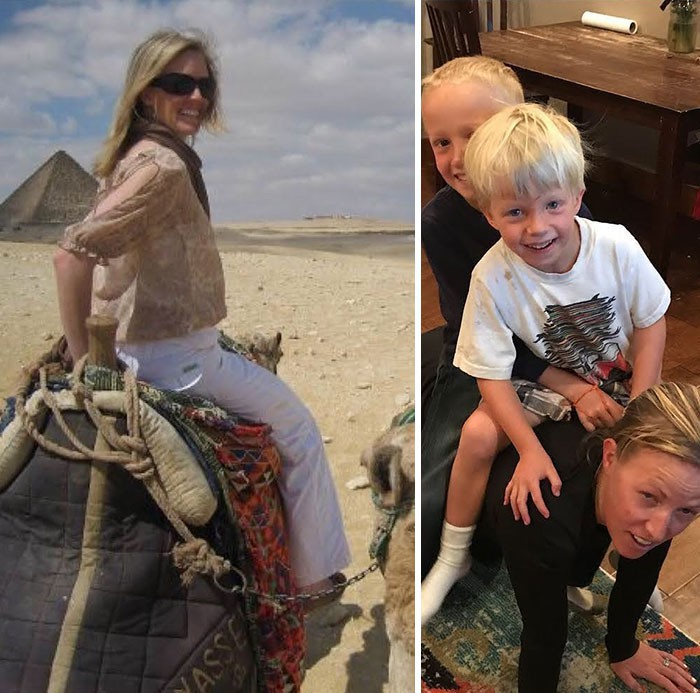 """Hình ảnh trước và sau khi làm cha mẹ của các """"dân chơi"""" sẽ cho bạn thấy việc nuôi con khắc nghiệt đến mức nào - Ảnh 3."""
