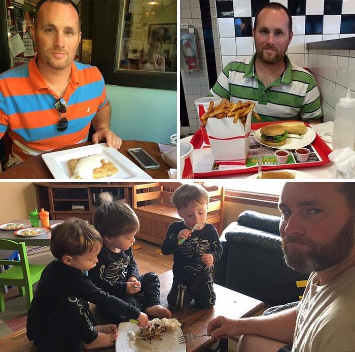 """Hình ảnh trước và sau khi làm cha mẹ của các """"dân chơi"""" sẽ cho bạn thấy việc nuôi con khắc nghiệt đến mức nào - Ảnh 5."""
