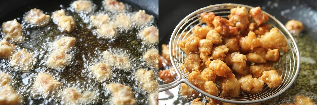 Thịt chiên xốt chua ngọt làm theo cách này thì người lớn hay trẻ nhỏ cũng đều thích mê - Ảnh 3.