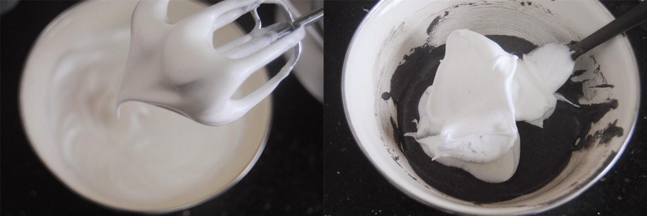 Bánh bông lan nếp cẩm cuộn chà bông - Ảnh 3.