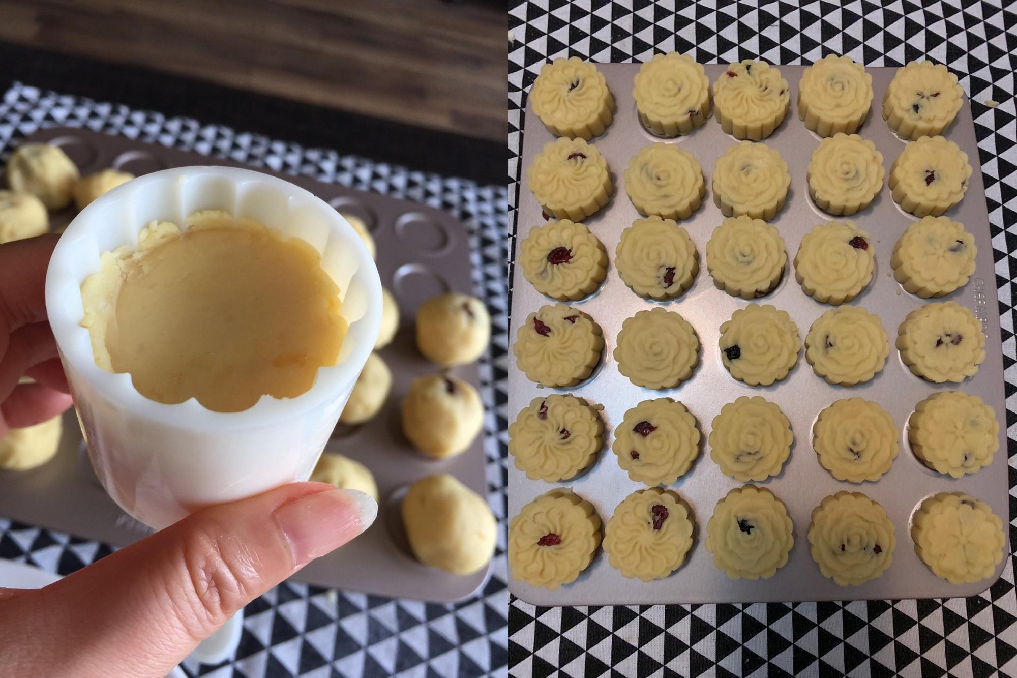 Bánh đậu xanh phô mai ngọt thơm thanh mát - Ảnh 4.