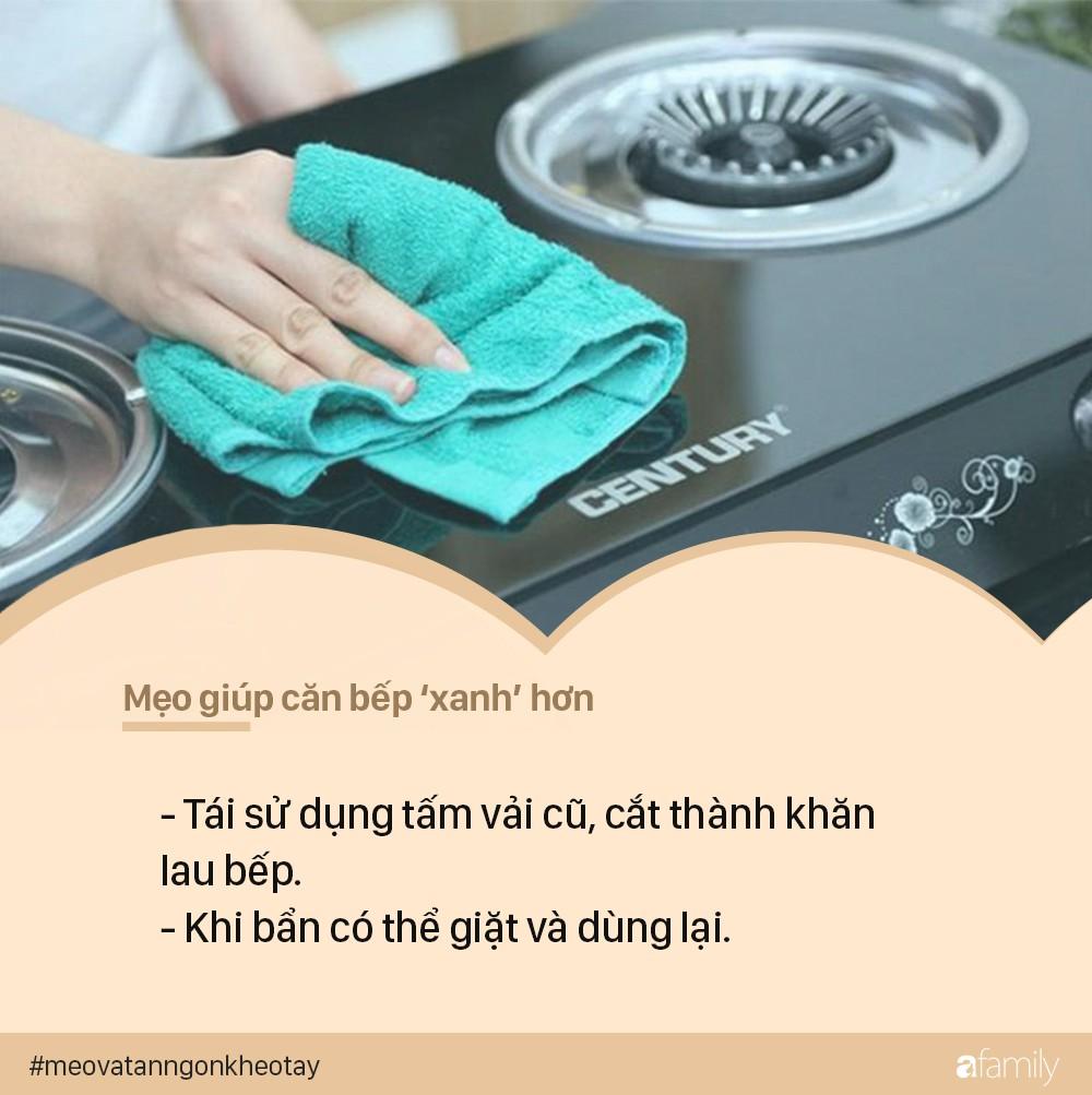 """Mẹo vặt giúp nhà bếp """"xanh cực xanh"""" ai cũng có thể thực hiện - Ảnh 1."""