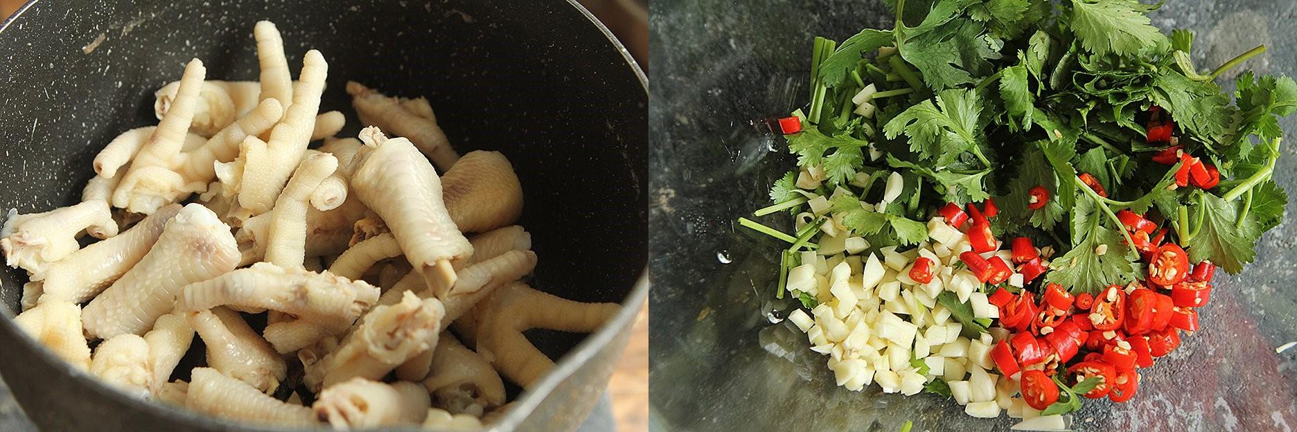 Chân gà trộn chua ngọt món ngon làm nhanh - Ảnh 2.