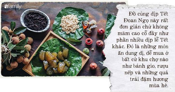 Tết Đoan Ngọ - cái Tết mang hương vị mùa hè với rượu nếp, bánh gio - Ảnh 2.