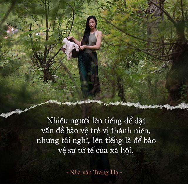 """Trang Hạ nói về việc để bé gái 13 tuổi đóng cảnh 18+ trong """"Vợ Ba"""": Tại sao không phải một diễn viên đóng thế ngực trần? - Ảnh 4."""
