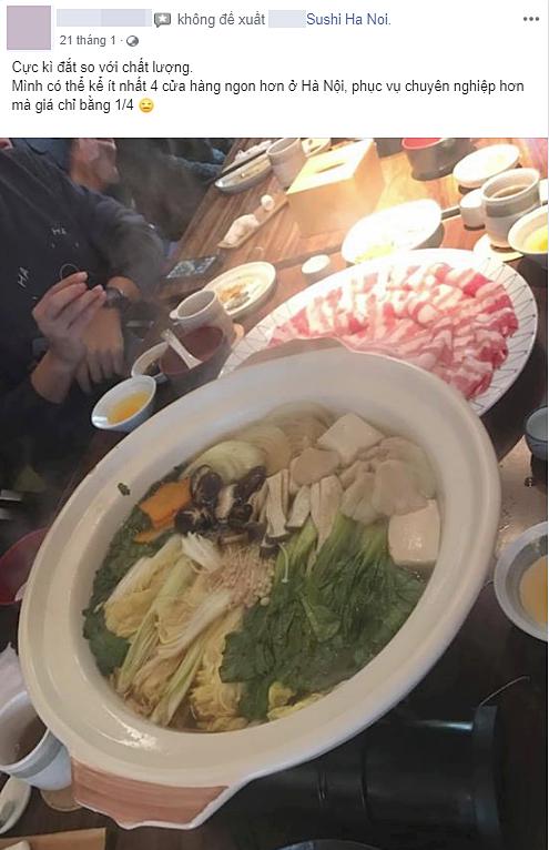 """Tiệm sushi nổi tiếng Hà Nội bị tố dùng nhiều chiêu """"bẫy"""" tiền thực khách: MC Minh Trang cũng từng là """"nạn nhân"""" - Ảnh 3."""