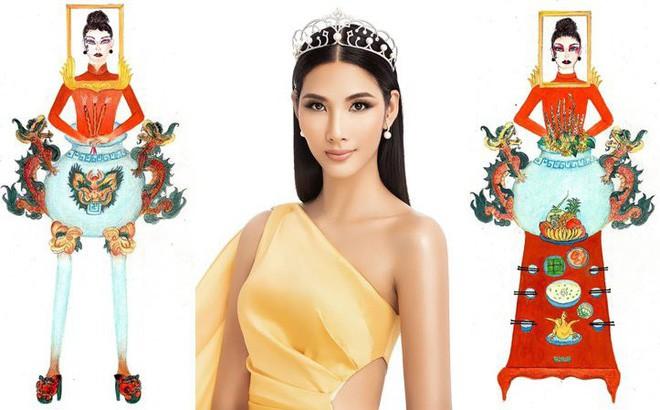 """Á hậu Hoàng Thùy gây tranh cãi khi khoe chụp ảnh cùng khung ảnh """"bàn thờ"""", netizen chỉ trích: """"Vui thôi đừng vui quá"""" - Ảnh 2."""