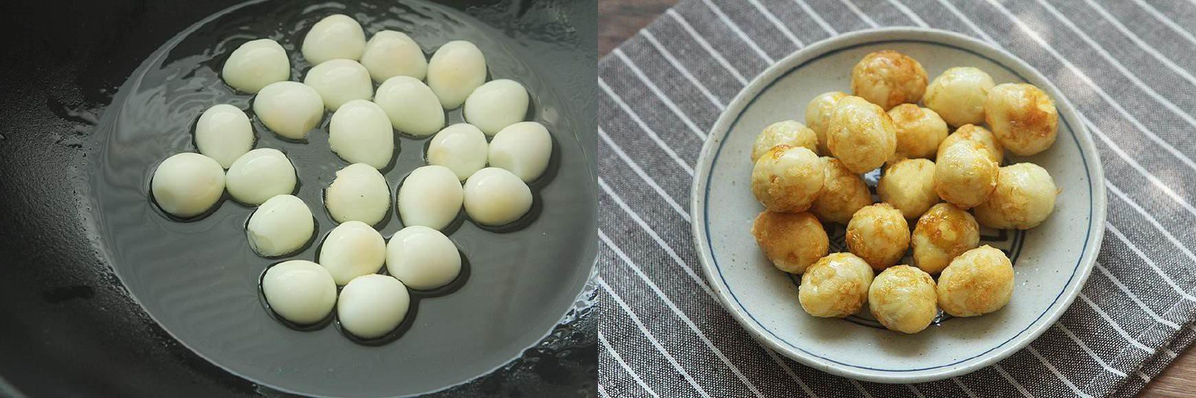 Trứng cút chiên xốt chua ngọt chuẩn ngon - Ảnh 2.