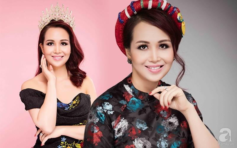 Hoa hậu Việt Nam cao 1m58: Xuất thân trâm anh thế phiệt, cuộc hôn nhân đầy đàm tiếu và chuyện làm dâu Ấn Độ nhiều kỳ lạ - Ảnh 1.