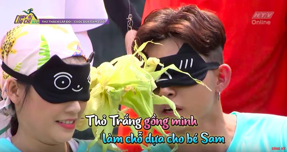 """Running Man: Sam lên tiếng về màn hôn môi Jun Phạm, fan chèo """"thuyền tình"""" Thỏ Trắng - Thỏ Hồng còn không mau bơi vào - Ảnh 8."""