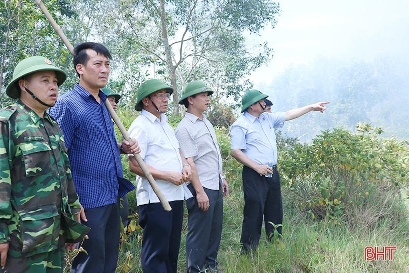 Toàn cảnh thảm họa cháy rừng ở Hà Tĩnh - Ảnh 10.