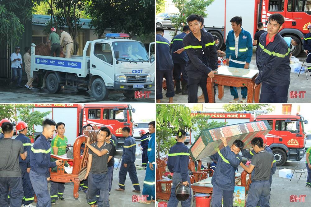 Toàn cảnh thảm họa cháy rừng ở Hà Tĩnh - Ảnh 4.