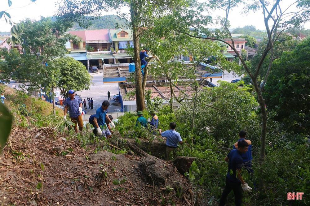 Toàn cảnh thảm họa cháy rừng ở Hà Tĩnh - Ảnh 8.