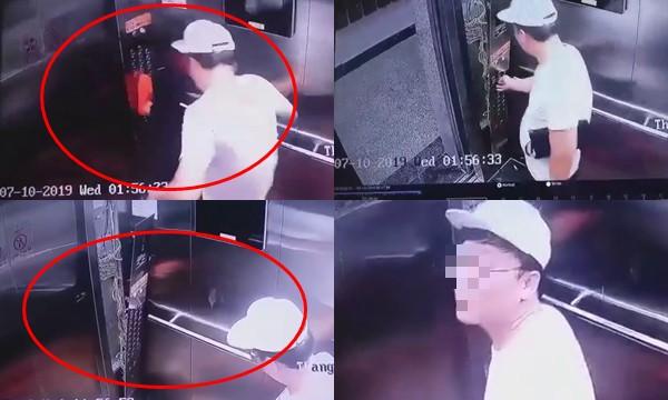 Nam thanh niên Hàn Quốc vô cớ tung cước đạp hỏng bảng điều khiển thang máy lên tiếng xin lỗi và bồi thường - Ảnh 3.
