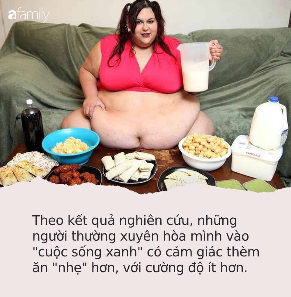 Nghiên cứu dành cho hội thừa cân: Cách dễ nhất để loại bỏ cảm giác thèm ăn chính là sống ở nơi có nhiều cây xanh - Ảnh 2.