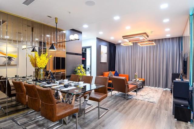 Hoàn thiện trọn gói nội thất căn hộ 98m2 chưa tới 1 tỷ phù hợp với vợ chồng trẻ - Ảnh 2.