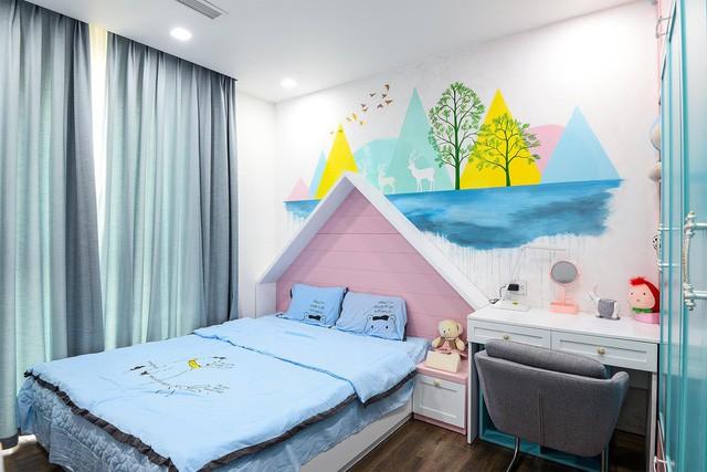 Hoàn thiện trọn gói nội thất căn hộ 98m2 chưa tới 1 tỷ phù hợp với vợ chồng trẻ - Ảnh 7.