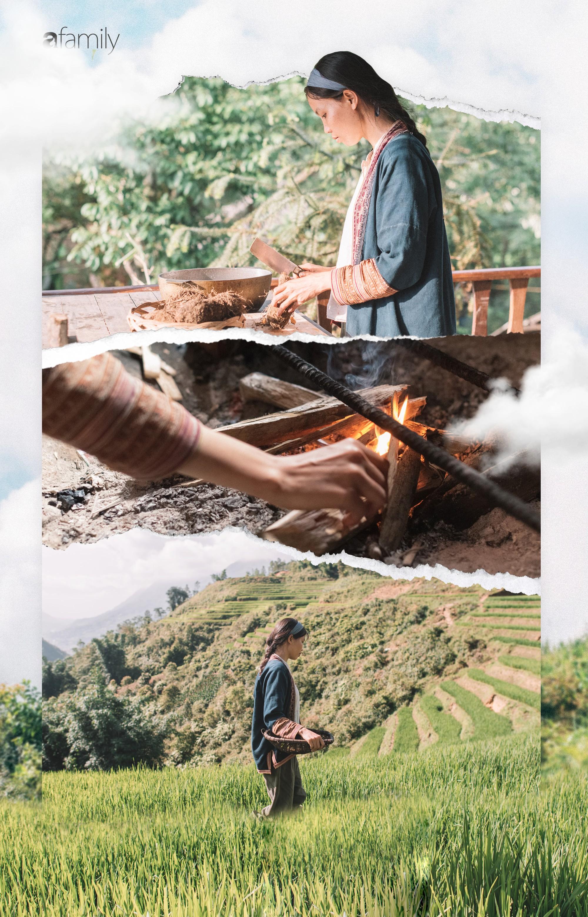 Cô designer bỏ Hà Nội lên rừng ẩn cư, ăn chay, lưu giữ thanh xuân rực rỡ qua những clip mỹ thực vạn người mê - Ảnh 19.