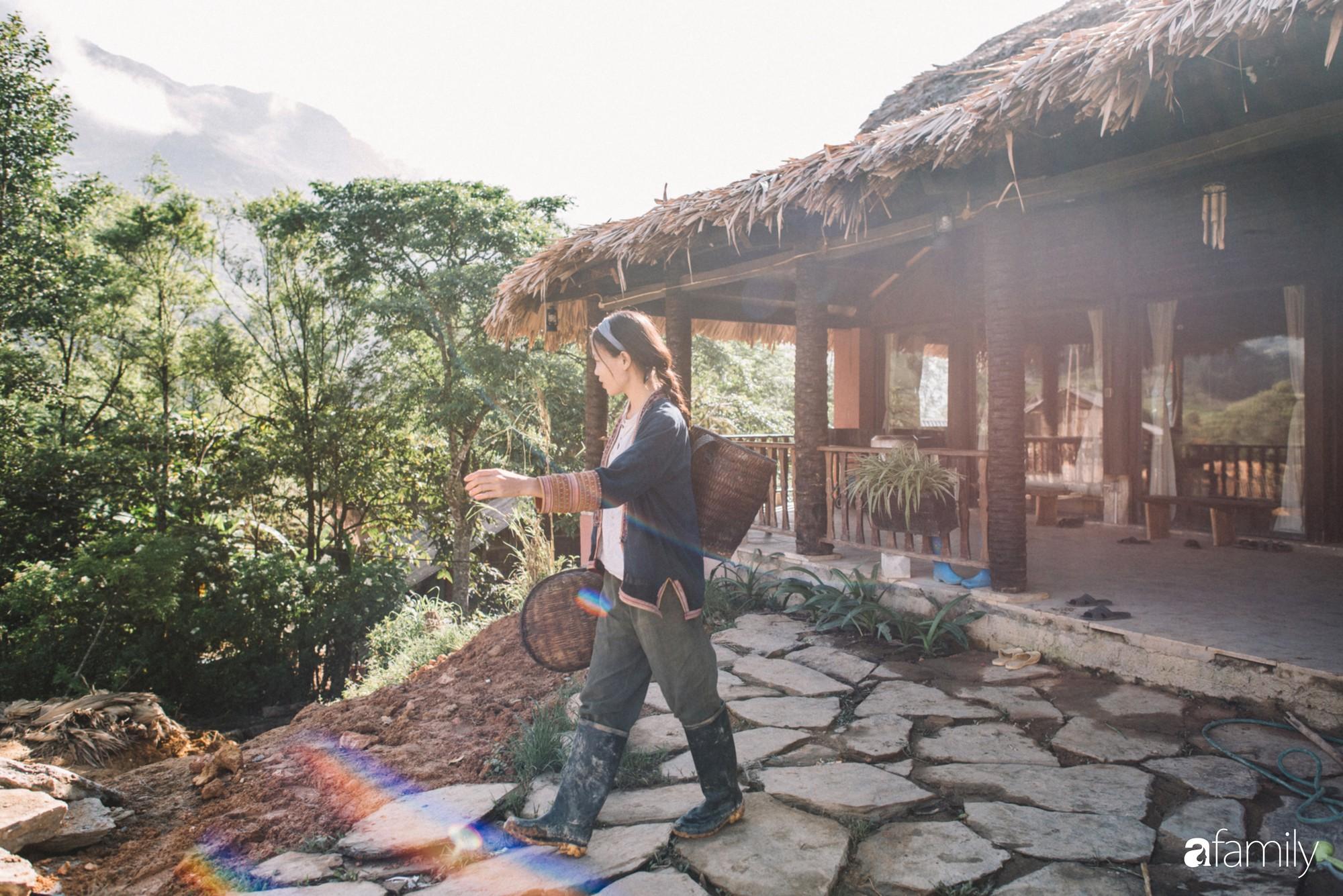 Cô designer bỏ Hà Nội lên rừng ẩn cư, ăn chay, lưu giữ thanh xuân rực rỡ qua những clip mỹ thực vạn người mê - Ảnh 21.