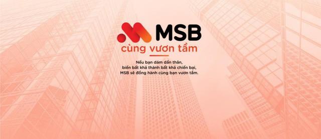 MSB – Bản lĩnh của người tiên phong - Ảnh 2.