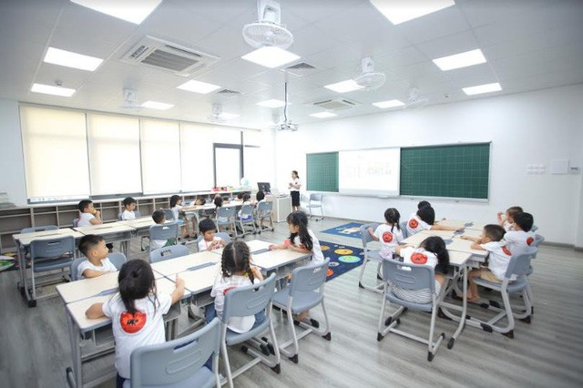 """""""Lạc lối"""" trong ngôi trường Tiểu học đẹp ngỡ ngàng tại Hà Nội - Ảnh 3."""