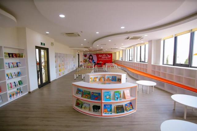 """""""Lạc lối"""" trong ngôi trường Tiểu học đẹp ngỡ ngàng tại Hà Nội - Ảnh 4."""
