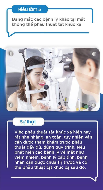 Top 5 hiểu lầm về phẫu thuật tật khúc xạ không phải ai cũng biết - Ảnh 5.